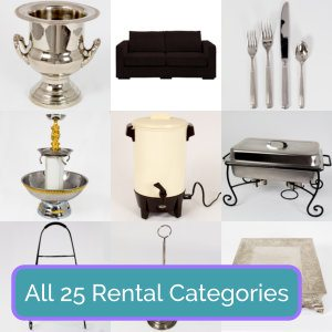Party Equipment Rentals in Central Virginia