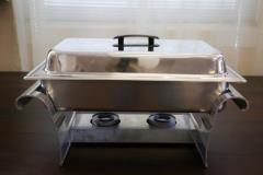 Rental store for 8 Qt. Rectangle Stainless Chafer in Richmond VA