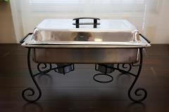 Rental store for 8 Qt. Iron Leg Stainless Chafer in Richmond VA