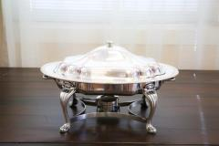 Rental store for 5 Qt. Oval Silver Chafer in Richmond VA