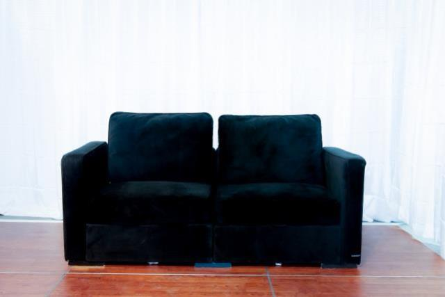 Where to find Black Sectional Love Seat in Richmond