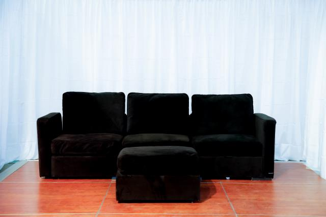 Where to find Black Sectional Ottoman in Richmond
