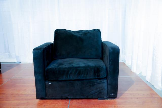 Where to find Black Sectional Arm Chair in Richmond