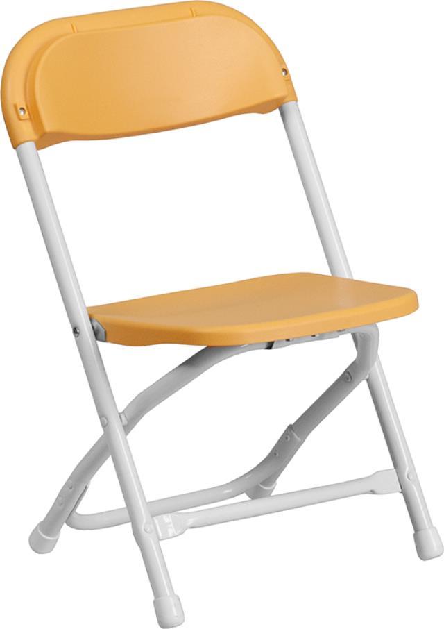 Children S Yellow Folding Chair Rentals Richmond Va