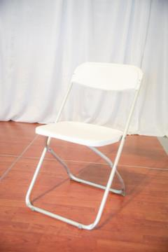 Rental store for White On Satin Folding Chair in Richmond VA