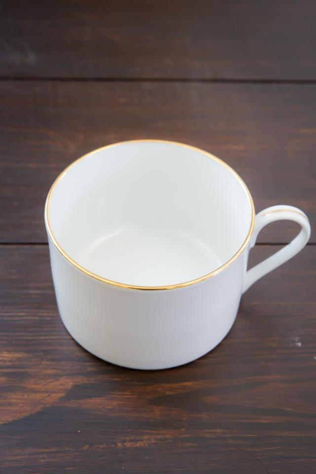 Where to find White W  Gold Rim Coffee Cup in Richmond
