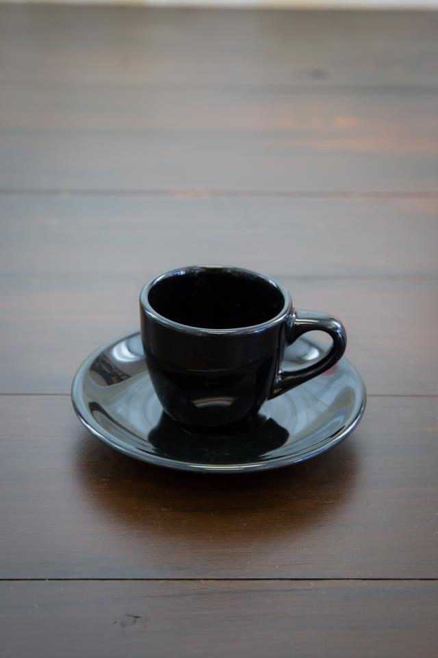 Where to find Black Demitasse Saucer in Richmond