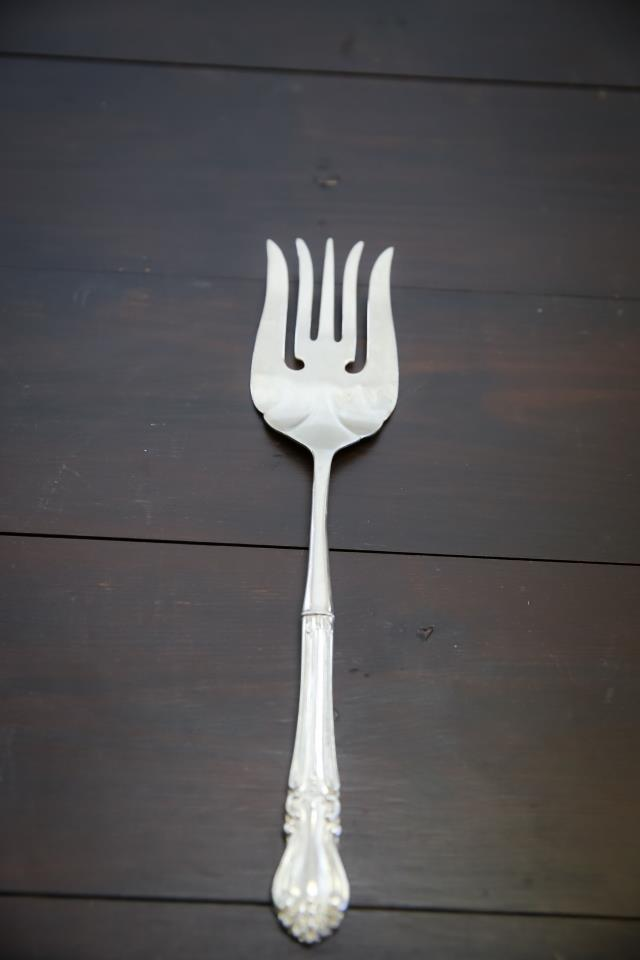 Where to find 11.5  Silver Serving Fork in Richmond