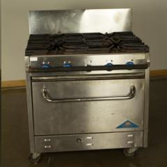 Rental store for Propane Oven Stove 4 Burner in Richmond VA