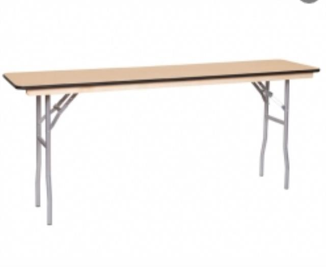 Where to find 6  X 18  Classroom Table Wood in Richmond
