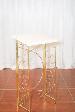 Rental store for White With Brass Registration Stand in Richmond VA
