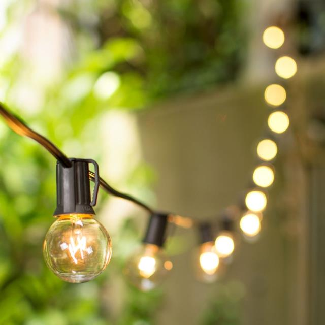 Where to find Black Bistro Lights Per Foot in Richmond