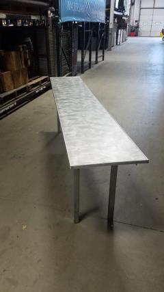 Rental store for 6  x 18  Aluminum Classroom Table in Richmond VA