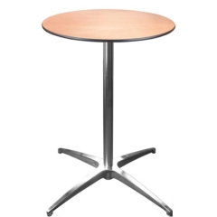 Rental store for 30  Round Cafe Table Short in Richmond VA
