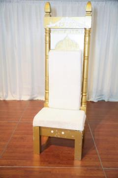 Rental store for White Throne Chair in Richmond VA