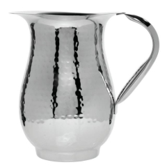 Rental store for 2 Qt. Stainless Hammered Water Pitcher in Richmond VA
