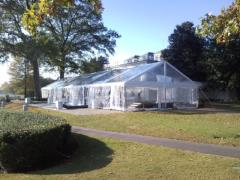 Rental store for 30 Ft Wide Clear Gable End Frame Tents in Richmond VA