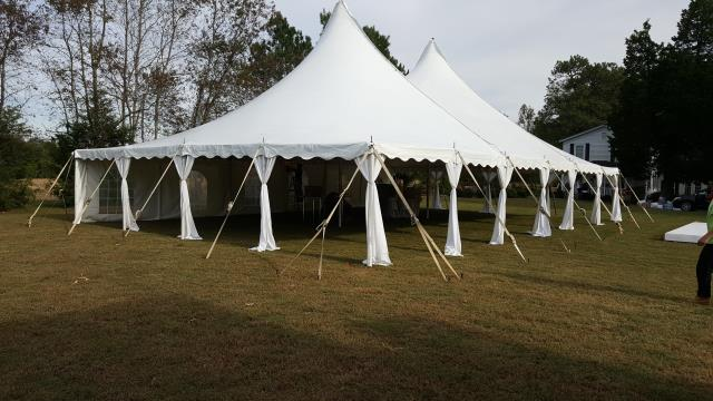 Where to find 40 Ft Wide Century Pole Tents in Richmond