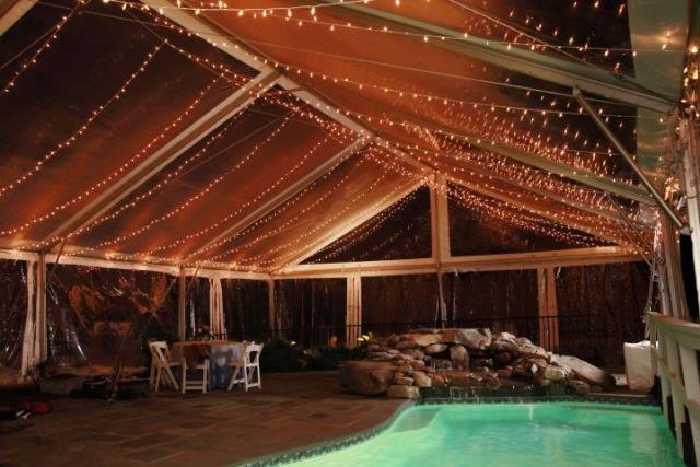40 Ft Wide Clear Gable End Frame Tents Rentals Richmond Va