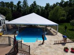 Rental store for 40 Ft Wide Hip End Frame Tents in Richmond VA