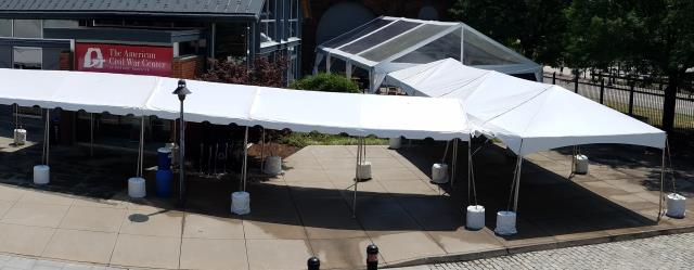 Where to find Tent Block Covers in Richmond
