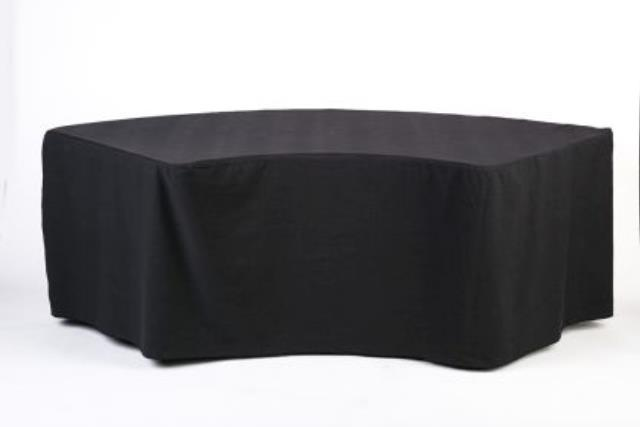 Where to find Black Serpentine Fitted Poly in Richmond