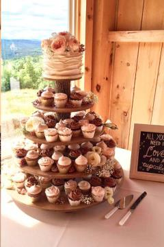 Rental store for 5 Tier Rustic Cupcake Stand in Richmond VA