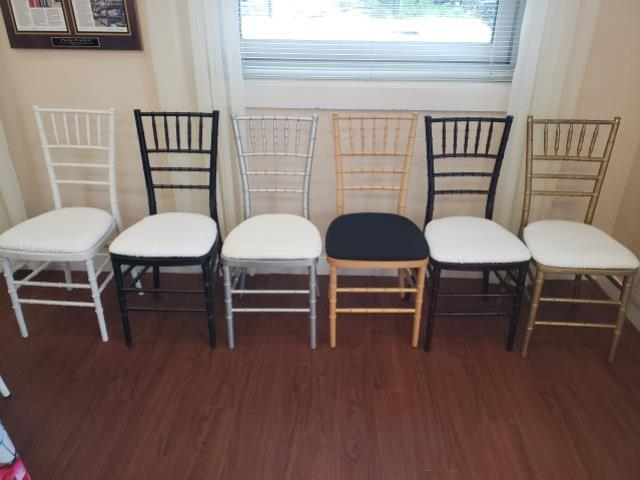 Where to find Chiavari Chairs in Richmond