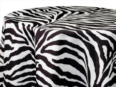 Rental store for Zebra Print Polyester in Richmond VA