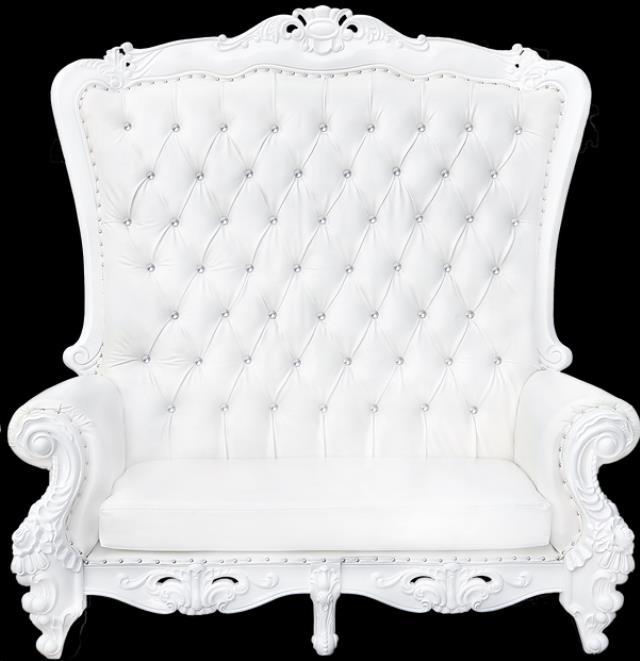 White Love Seat Throne Rentals Richmond Va Where To Rent
