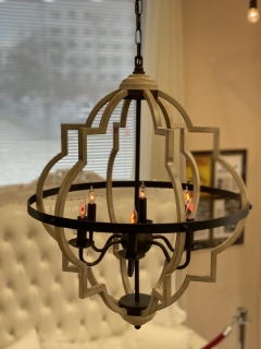 Rental store for Rustic 6 Light Chandelier in Richmond VA