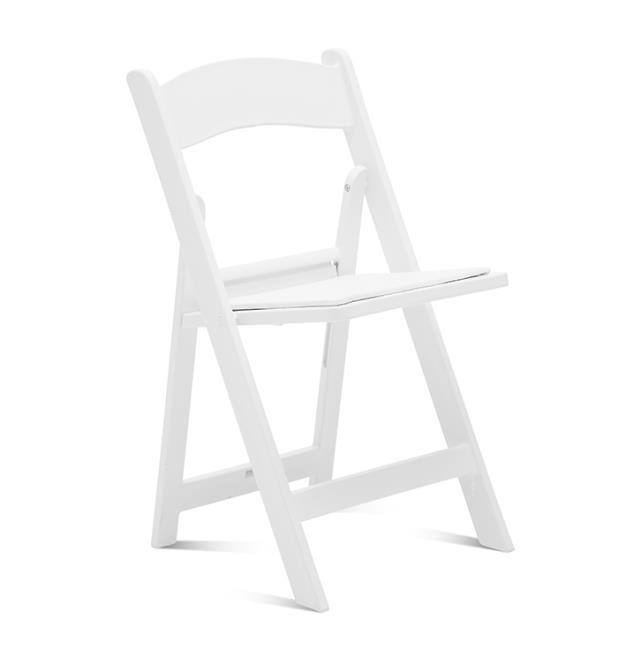 White garden chair rentals Richmond VA | Where to rent white ...